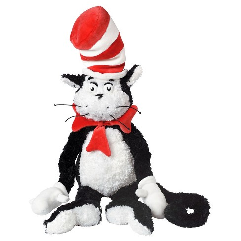 "Manhattan Toy Dr. Seuss The Cat in the Hat 27"" Soft Plush Toy - image 1 of 2"