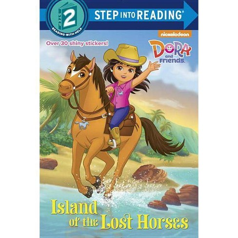 Island of the Lost Horses (Dora and Friends) - (Step Into Reading) by  Kristen L Depken (Paperback) - image 1 of 1