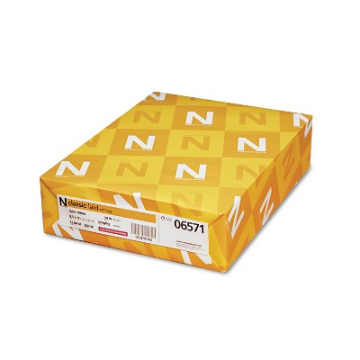 Neenah Paper Classic Laid Stationery Writing Paper 24-lb. 8-1/2 x 11 Solar White 500/Ream 06571