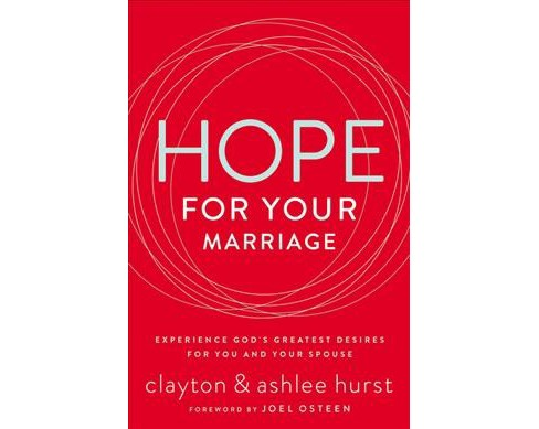Hope for Your Marriage : Experience God's Greatest Desires for You and Your Spouse (Paperback) - image 1 of 1