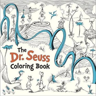 The Dr. Seuss Coloring Book (Paperback) by Seuss