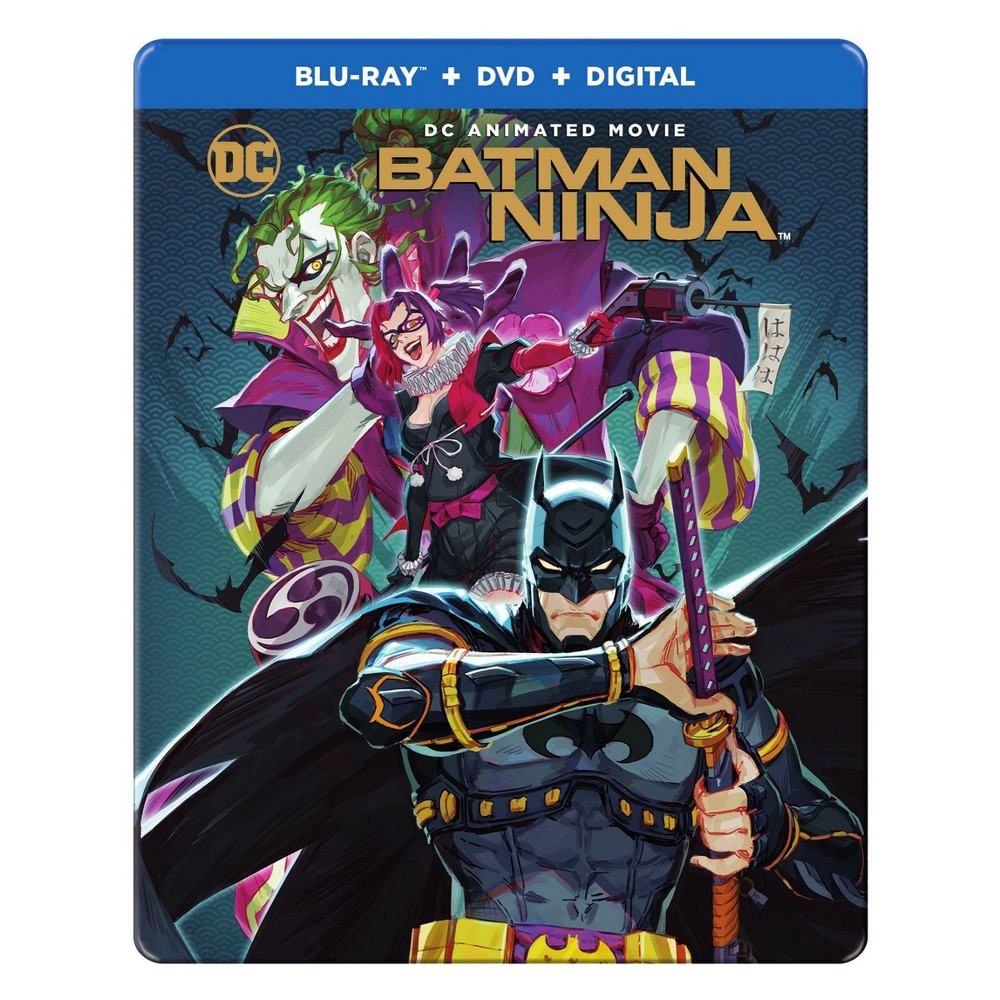 Batman Ninja (Steelbook) (Blu-ray + Dvd)