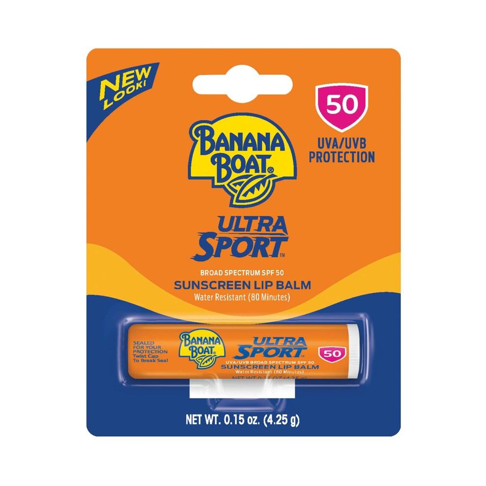Image of Banana Boat Ultra Sport Sunscreen Lip Balm - SPF 50 - 0.15oz