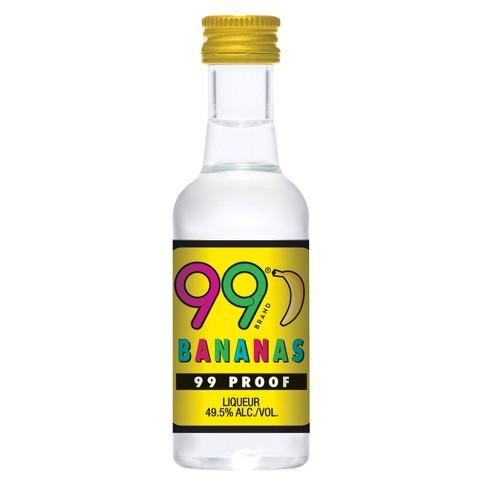 99 Bananas Liqueur - 50ml Plastic Bottle - image 1 of 1
