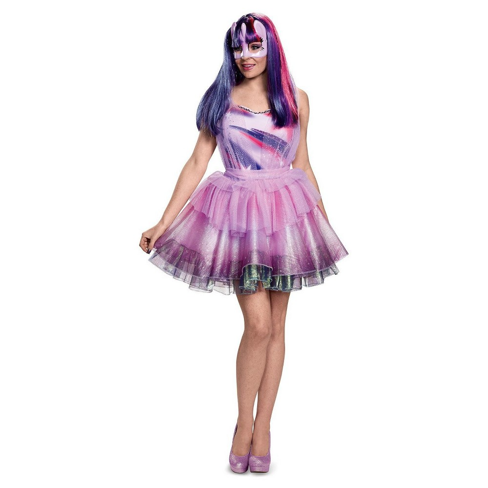 Women's My Little Pony My Little Pony: Twilight Sparkle Deluxe Adult Costume X-Large, Size: XL, Multi-Colored