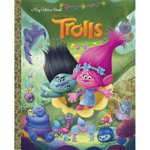 Trolls - by Golden Books Publishing Company (Hardcover) - image 1 of 2