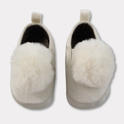 Baby Crib Shoes - Cat & Jack™ Almond Cream 6-9 M