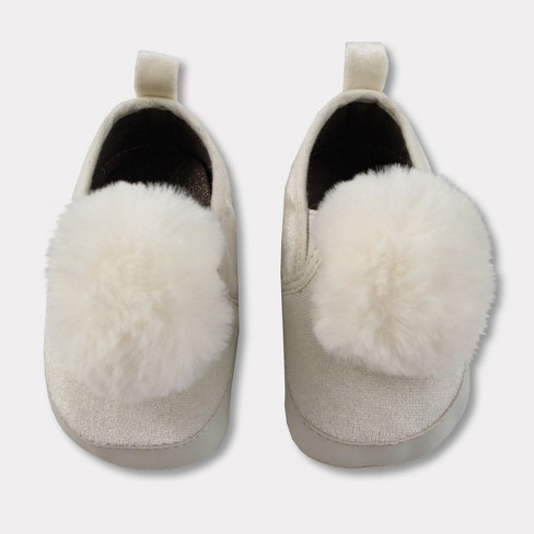 Baby Crib Shoes -  Cat & Jack™ Almond Cream - image 1 of 6