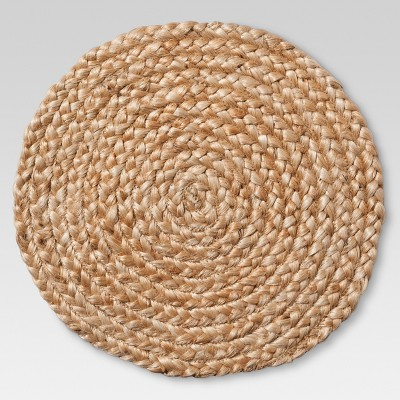 Natural Jute Braid Decorative Charger - Threshold™