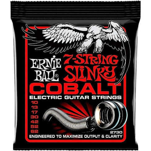 Ernie Ball 2730 Cobalt 7-String Skinny Top Heavy Bottom Electric Guitar Strings - image 1 of 2