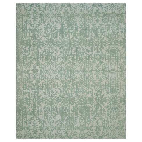 Restoration Vintage Rug - Gray/Turquoise - (8'x10') - Safavieh® - image 1 of 3