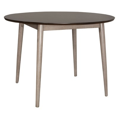Mayson Dining Table Gray/Chocolate - Hillsdale Furniture