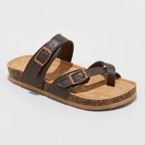 Girls' Mad Love Flynn Footbed Sandals - image 1 of 3