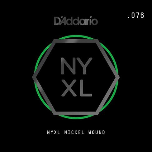 D'Addario NYNW076 NYXL Nickel Wound Electric Guitar Single String, .076 - image 1 of 2
