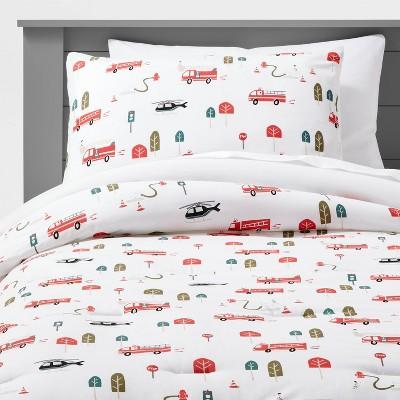 Transportation Cotton Comforter Set - Pillowfort™