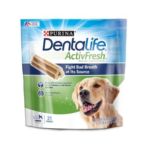 Nestle Purina Dentalife ActivFresh Large Dogs - image 1 of 4
