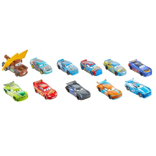Disney Pixar Cars Piston Cup Race Die-Cast 11pk - Individual Cars May Vary. image number null