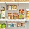 mDesign Metal Under Kitchen Pantry Shelf Hanging Bin Basket - image 3 of 4