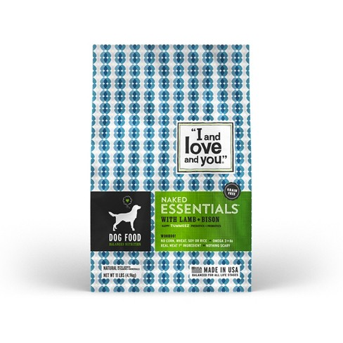I and Love and You Naked Essentials Lamb, Bison Dry Dog Food - image 1 of 5