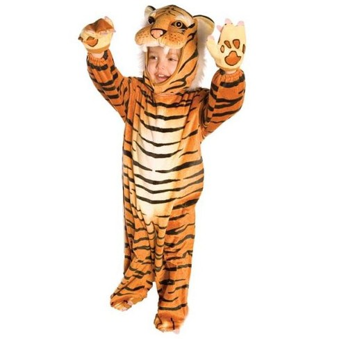 Underwraps Costumes Brown Plush Tiger Costume Child Infant - image 1 of 1
