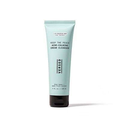 Versed Keep the Peace Acne-Calming Cream Cleanser - 4 fl oz