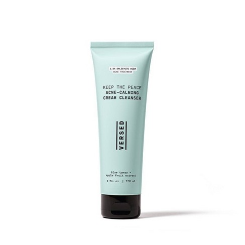 Versed Keep the Peace Acne-Calming Cream Cleanser - 4 fl oz - image 1 of 4