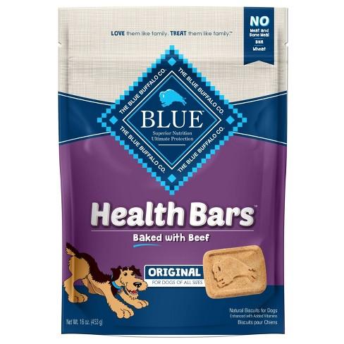 Blue Buffalo Dog Treats - Health Bars Baked with Beef Dog Treats - 16oz - image 1 of 4