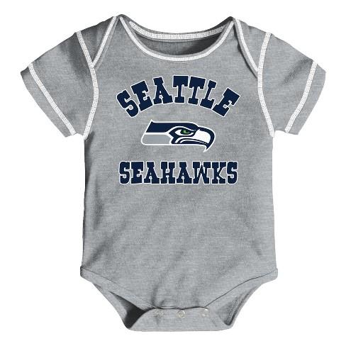 30323b09d NFL Seattle Seahawks Boys  Newest Fan 3pk Bodysuit Set   Target