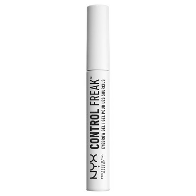 NYX Professional Makeup Control Freak Long-lasting Eyebrow Gel Clear - 0.3oz