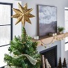 Gold Star Tree Topper - Threshold™ designed with Studio McGee - image 2 of 4