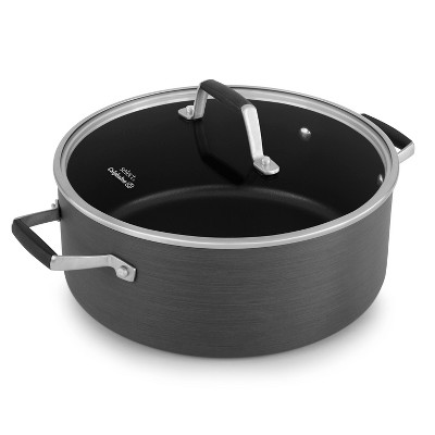 Calphalon™ 5 Quart Hard-Anodized Non-stick Dutch Oven with Cover