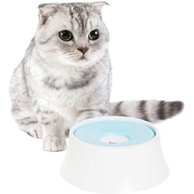 PawsMark Anti-Splash Dripless Drinking Water Slow Feeder Dispenser Car Bowl for Pets