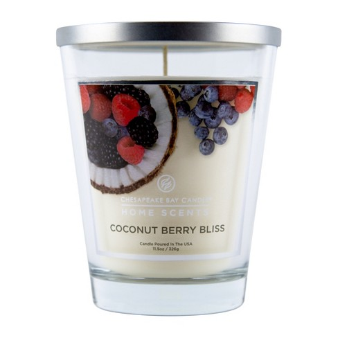 Glass Jar Candle Coconut Berry Bliss - Home Scents By Chesapeake Bay Candle - image 1 of 1