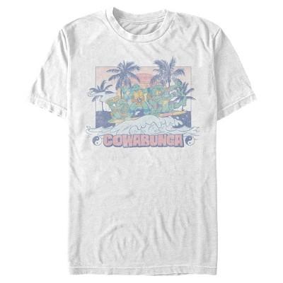 Men's Teenage Mutant Ninja Turtles Cowabunga Wave T-Shirt