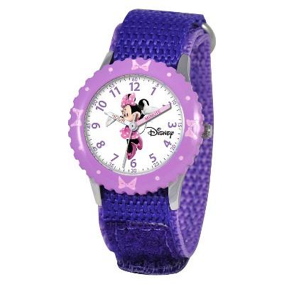 Disney Kid's Minnie Watch - Purple