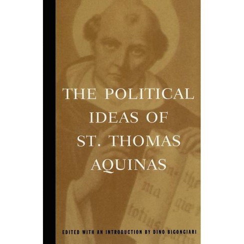 The Political Ideas of St. Thomas Aquinas - (Hafner Library of Classics) (Paperback) - image 1 of 1