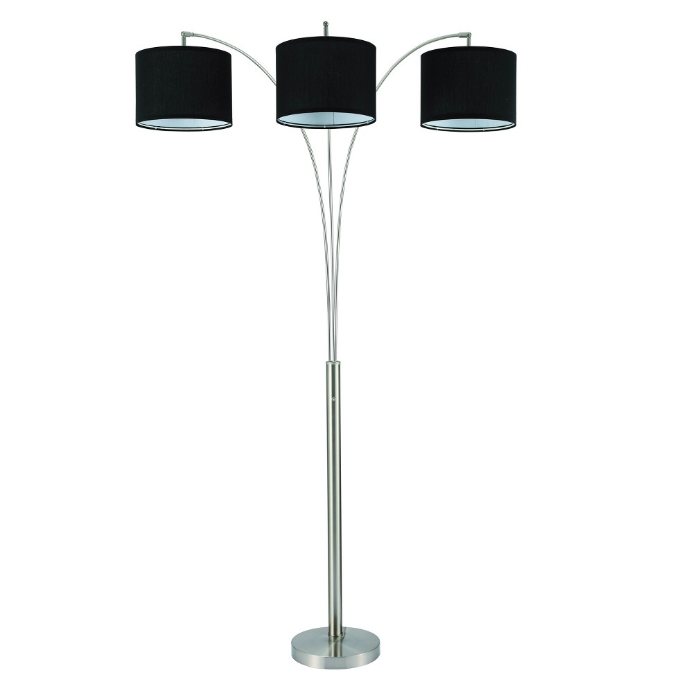 Floor Lamp Home Source, Silver