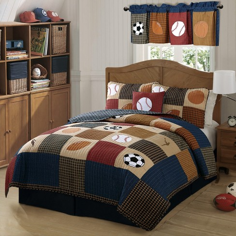 Classic Sport Quilt Set - My World - image 1 of 2