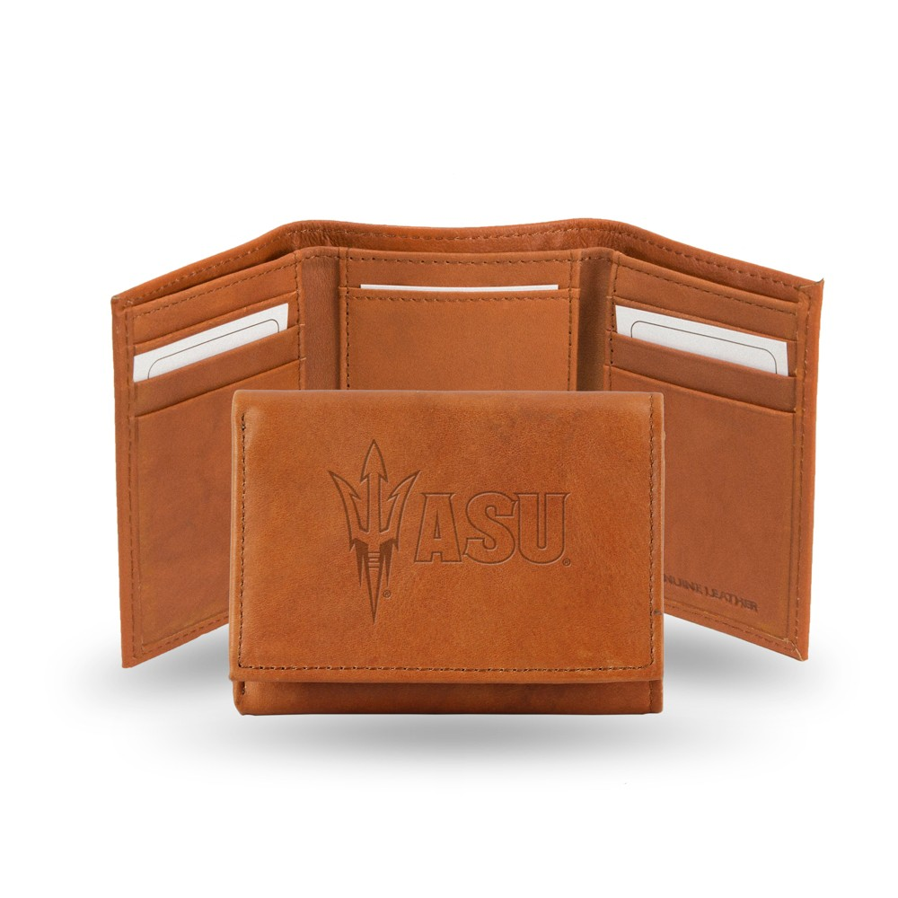Arizona State Sun Devils Rico Industries Embossed Leather Trifold Wallet
