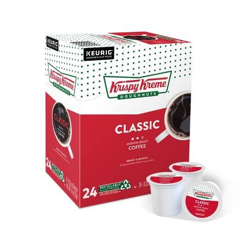 Krispy Kreme Classic Medium Roast Coffee - Keurig K-Cup Pods - 24ct - image 1 of 4