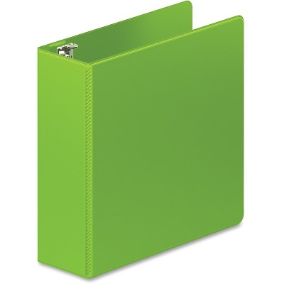 "ACCO Brands Corporation D-Ring Binder HD 3"" Lime Green 38449376"