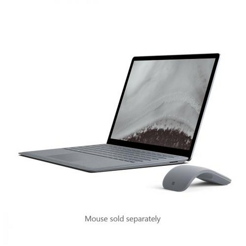 "Microsoft Surface Laptop 2 13.5"" Intel Core i7 8GB RAM 256GB SSD Platinum  -  8th Gen i7-8650U Quad-core - Touchscreen - Intel UHD Graphics 620 - image 1 of 4"