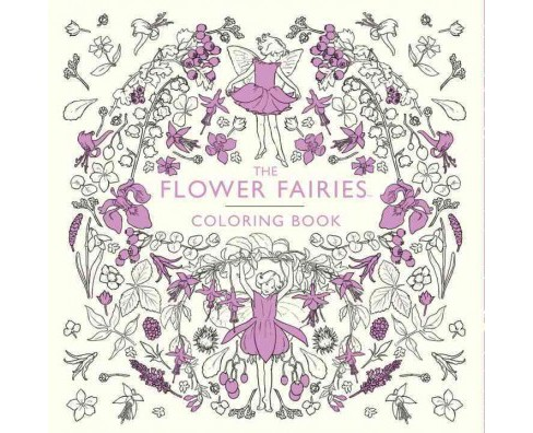 Flower Fairies Coloring Book Paperback Cicely Mary Barker Target