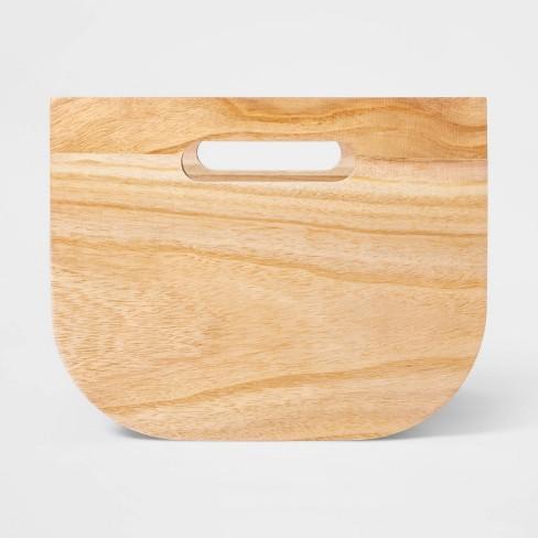 "Small Paulownia Wood Bin with Fabric Sides Dark Gray 8""x10"" - Project 62™ - image 1 of 4"
