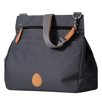PacaPod 3-in-1 Baby Changing Messenger Bag Oban - Black Charcoal