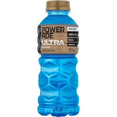 POWERADE Ultra Mixed Berry Sports Drink - 20 fl oz Bottle