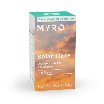 Myro Solar Flare Deodorant Refill Pod - 2oz