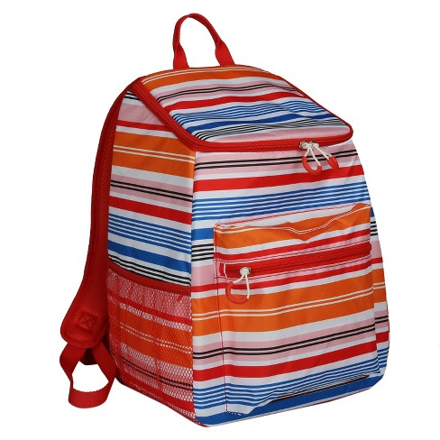 Evergreen Backpack Cooler - Multi Stripe - image 1 of 5
