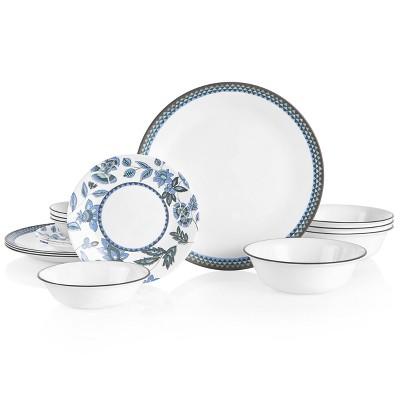 Corelle 16pc Vitrelle Veranda Dinnerware Set