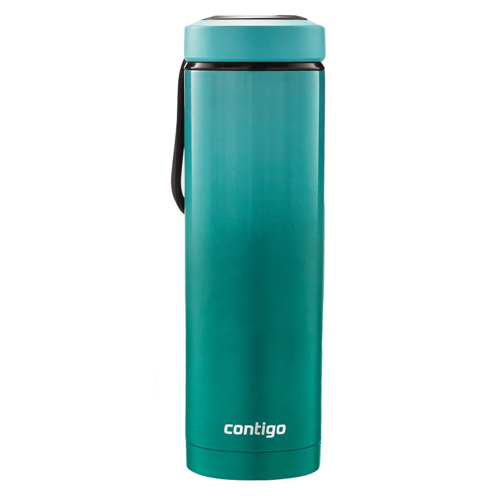 Contigo Evoke Couture Stainless Steel Hydration Bottle 24oz - Garnish, Green